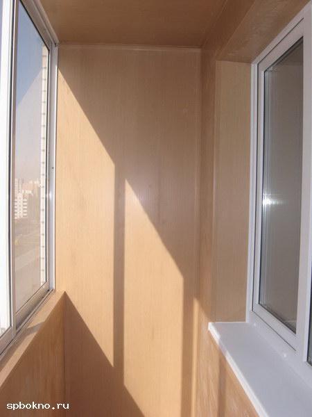 Обшивка лоджий, балконов.